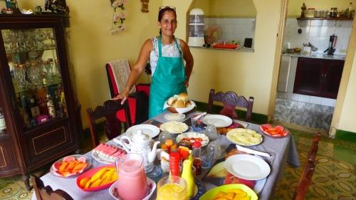 Casa Amistad Frühstück001